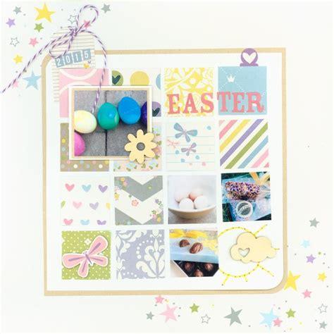 scrapbook layout easter 431 best easter scrapbooking images on pinterest