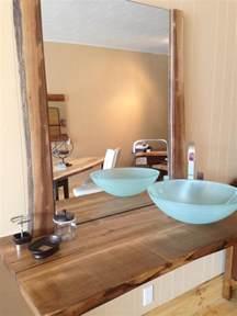 Vessel Sinks And Faucets Waschtisch Aus Holz F 252 R Aufsatzwaschbecken Bauen