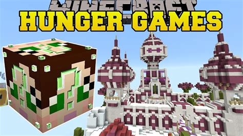 hunger games mod in minecraft minecraft pink castle hunger games lucky block mod