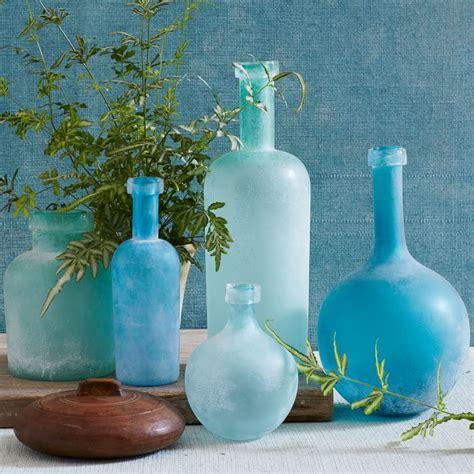 Sea Glass Bottles Ideas Diy Nautical Sea Glass Bottles Wedding Extras