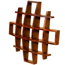 wooden home decor items contemporary wood display wall hanging shelves home decor