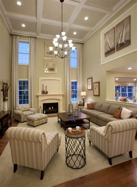 Decorating Ideas For Living Rooms With High Ceilings 17 How To Decorate A Living Room With High Ceilings