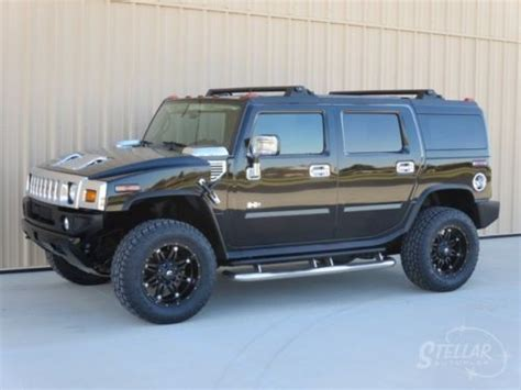 service manual how to clean 2006 hummer h2 suv throttle buy used 2006 hummer h2 super clean