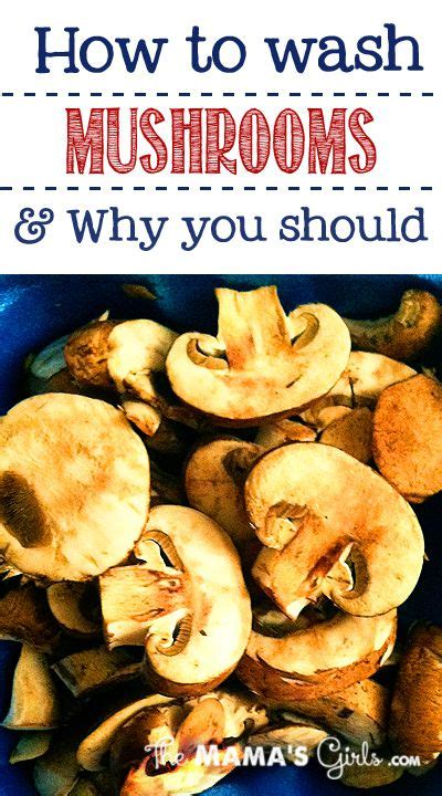 how to wash your mushrooms effectively receptions is 1