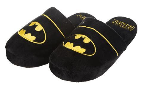 batman house shoes dc comics batman slip on slippers