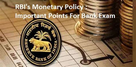 Rbi Mba Recruitment by Rbi S Fifth Monetary Policy Key Points For Bank Exams