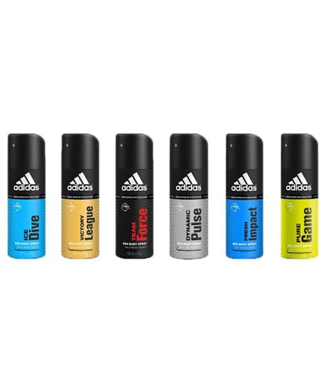 Where Can I Buy An Adidas Gift Card - adidas gift pack of 6 deodorants 150ml each buy online at best prices in india snapdeal