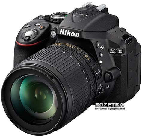 Nikon D5300 Kit Black Aksesories rozetka ua nikon d5300 18 105mm vr black kit