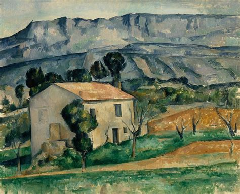 House Portrait Artist by House In Provence 1885 86 By Paul Cezanne