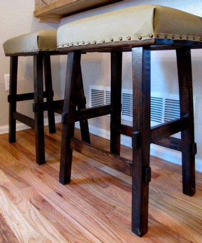 Rustic Bar Stool Plans by Bar Stool Plans White Woodworking Projects Plans