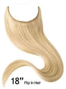 flip in hair 18 quot flip in halo