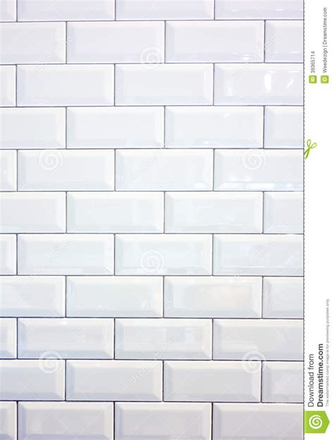 White ceramic tile wall stock photo image of clean tile 39365714