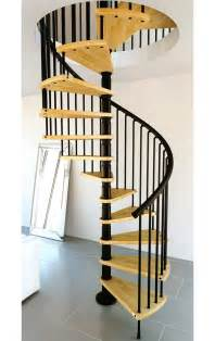 Gamia wood spiral staircase 1400mm black gt spiral staircase kits