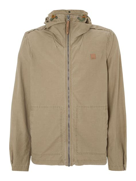 hooded cotton jacket bench hooded cotton jacket in brown for light brown
