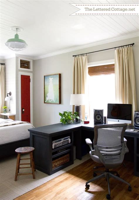 combination home office  guest room home design  decor reviews