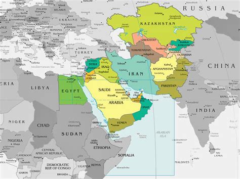 middle east map africa and southwest asia preparing for world war iii targeting iran