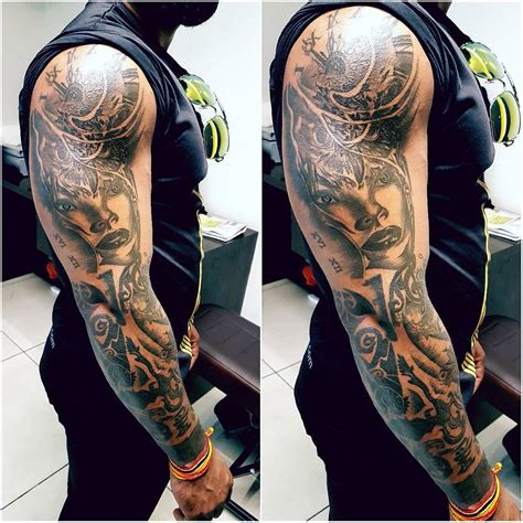 full arm tattoo 45 artistically express yourself through sleeve