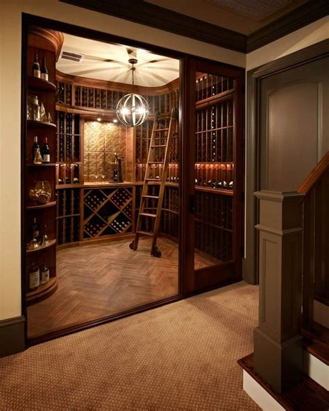 basement wine room wine cellar traditional basement carolina design associates