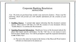 Bank Resolution Letter How To Write A Board Resolution To Open A Bank Account Seychelles Offshore Zones And