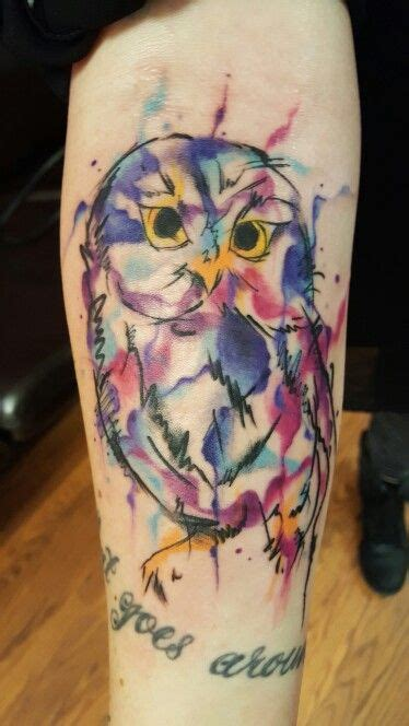 watercolor tattoo rochester ny 17 best images about owl tattoos on