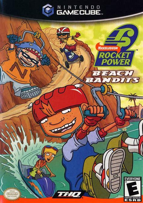 rocket power beach bandits gamecube game