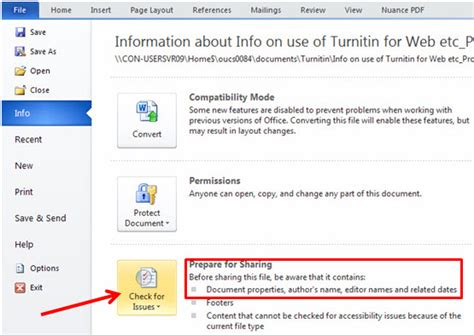 word cannot open this document template how to metadata from a word 2010 document turnitin