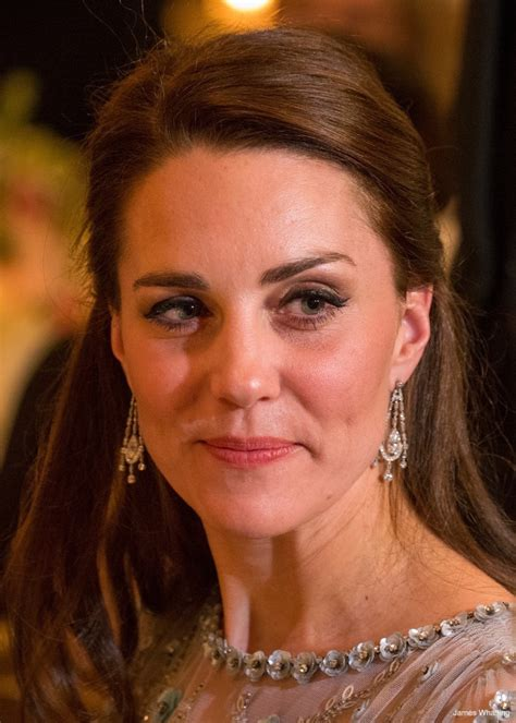 Kate wears ice blue Jenny Packham gown to Paris gala · Kate Middleton Style Blog