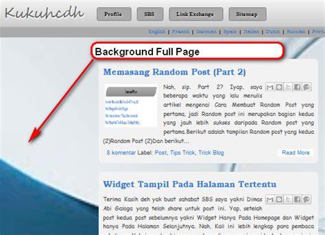membuat website full background membuat background pada web full page tutorial blog