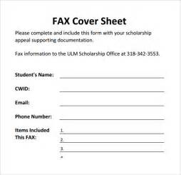Fax Cover Sheet Pdf by Sle Printable Fax Cover Sheet 17 Free Documents In