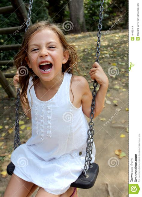 girl on swing girl on swing royalty free stock images image 16053169