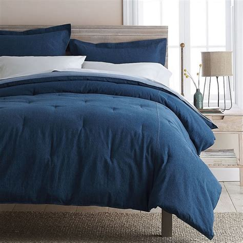 denim comforter set full denim comforter the company store