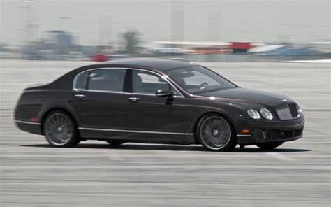 bentley continental flying 2012 bentley continental flying spur speed first test