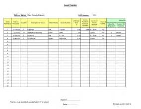 Fixed Asset Register Excel Template by 8 Best Images Of Asset Template Asset Register Excel