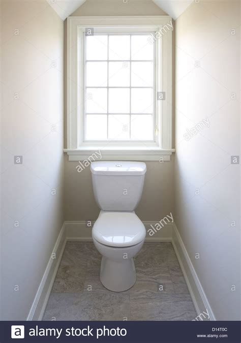 toilet window in small room stock photo 52352396