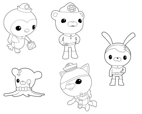 disney coloring pages octonauts octonauts 15 dessins anim 233 s coloriages 224 imprimer