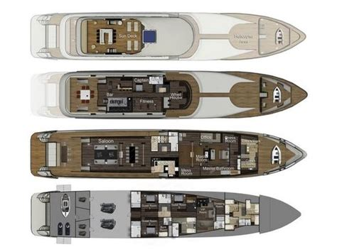 mega yacht floor plans mega yacht floor plans images frompo