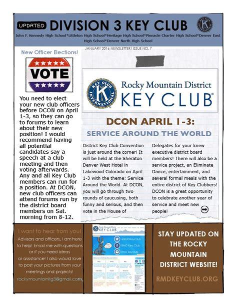 jan 2016 key club newsletter by rmd key club issuu