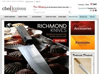 Kitchen Knives To Go Chef Knives To Go 5 5 By 981 Consumers Chefknivestogo Consumer Reviews At