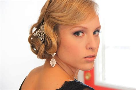great gatsby era hairstyles obsession great gatsby style onsite muse wedding hair