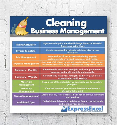 cleaning business template cleaning business management software pricing calculator