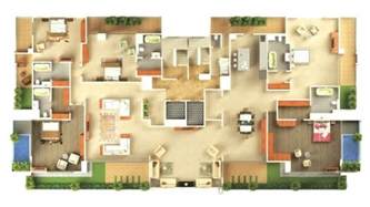 house plans with large bedrooms 5 bedroom 3d house plans house floor plans