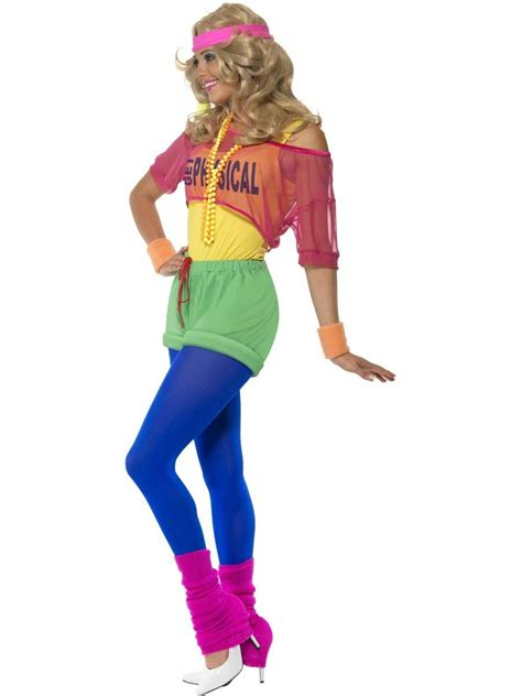 80s costume 80 s let s get physical costume 39465 fancy