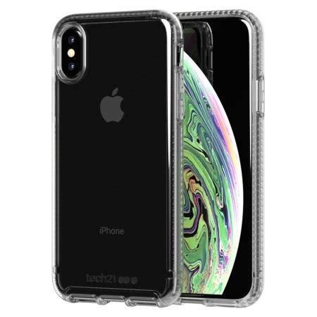 tech pure clear iphone xs clear case