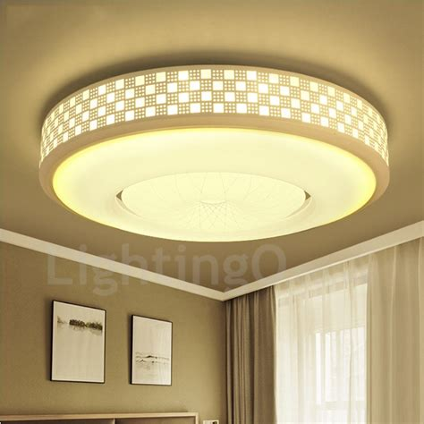 Dining Room Flush Ceiling Lights Modern Contemporary Led Integrated Living Room Dining Room