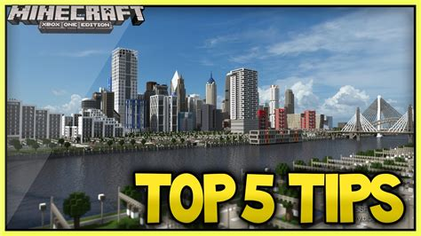 best city building minecraft top 5 city building tips 2015 edition