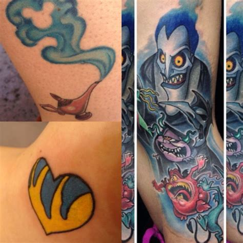 tattoo pain medication tat ideas little mermaid heart flounder magic l alladin