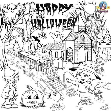disco zombie coloring page free printable halloween ideas kids activities thomas