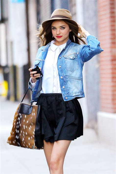 casual model girl style icons miranda kerr angela dissected