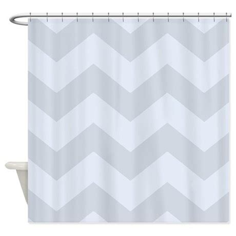 light grey chevron curtains light grey chevron shower curtain by patternedshop