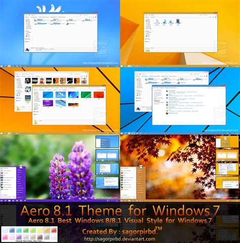 theme windows 8 1 aero aero 8 8 1 theme for windows 7 by sagorpirbd on deviantart